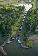 Die Schleusen von Berg/der Götakanal