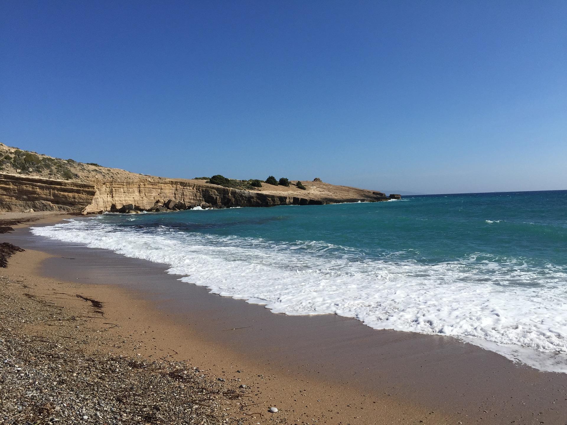 Фото пляжей острова родос