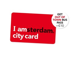 Special offer for I Amsterdam City Card holders!