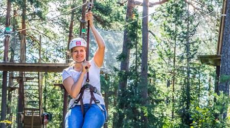 Treetop Adventure Huippu