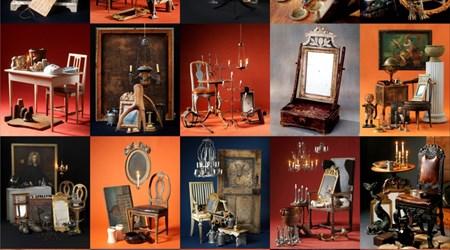 16-18  March, Antiques Fair in Brösarp.