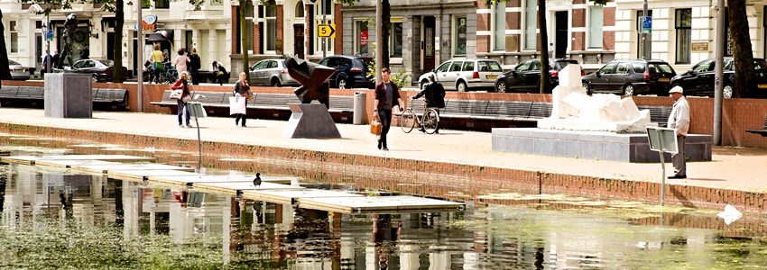 Public art at the Westersingel