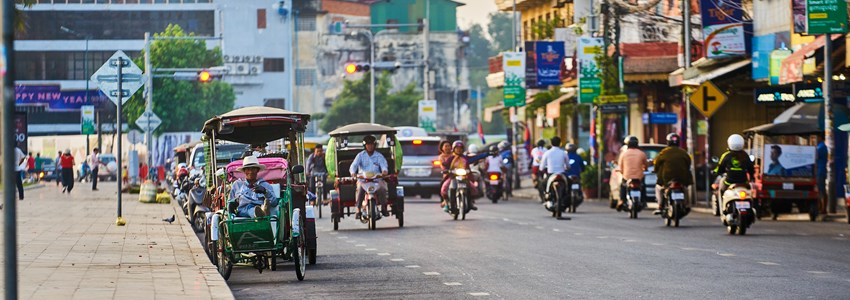 cyclos in Phnom Penh