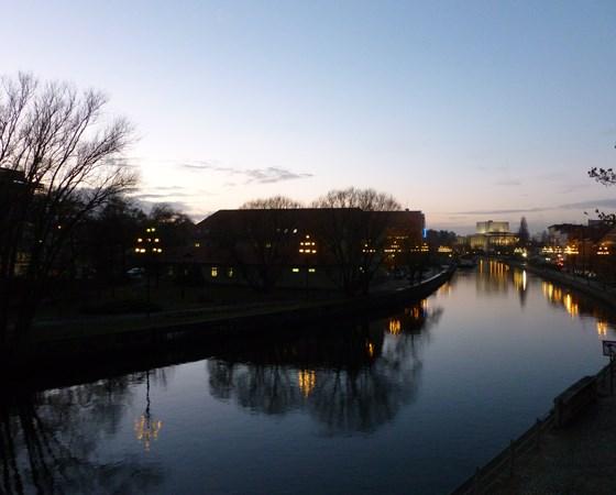 The river Brda