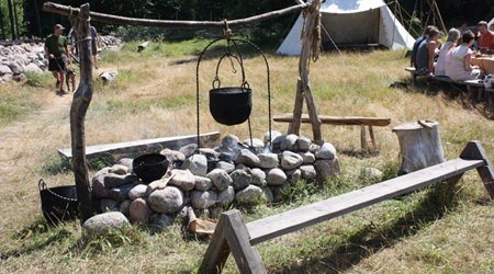 Skäftekärr Iron Age Village