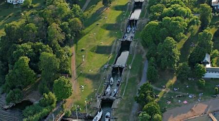 Berg Locks - the Göta Canal