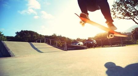 Skateboard Park and BMX Track