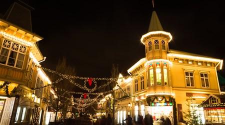 Liseberg Amusement Park Christmas Market