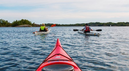 Kayak festival at Tjärö