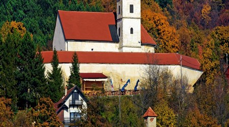 The Church of the Mother of God of Gorje in Lobor