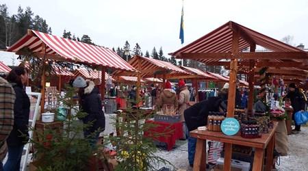 Christmas market at Norra Berget