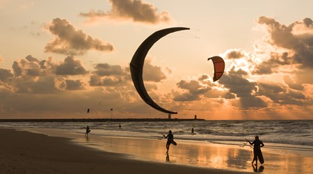 Surfing and Kite-surfing