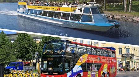 Bus & Boat combo