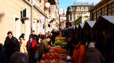 City Market - Placa