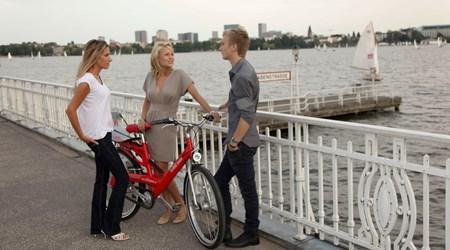 Bike tours around Hamburg
