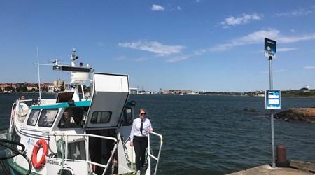 Karlskrona Hop-on Hop-off boat!