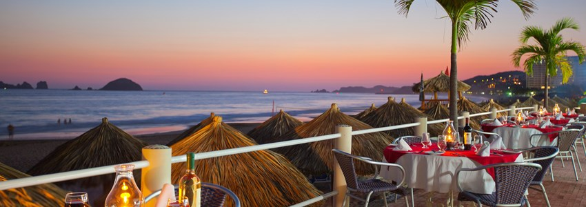 Krystal Ixtapa - Sunset dining