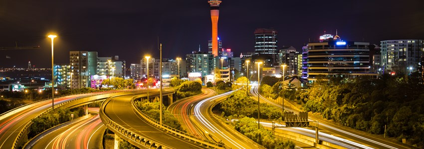 Auckland City and Spaghetti Junction