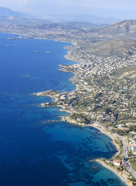 Glyfada and the seaside