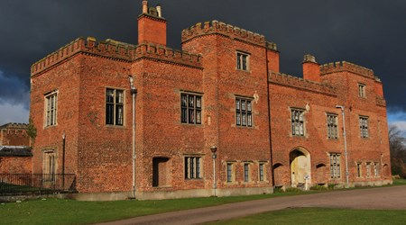 Holme Pierrepont Hall and garden