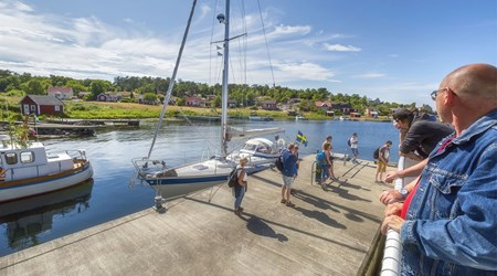 Boattrip Karlshamn-Tjärö