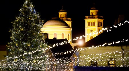 Advent in Eger