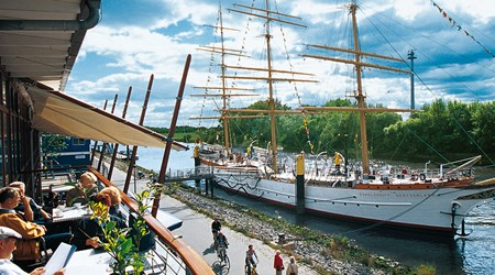 The Maritime Mile in Vegesack