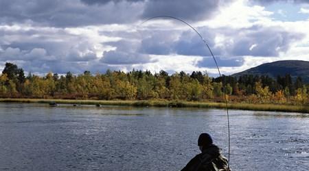 Fishing adventure in Lapland