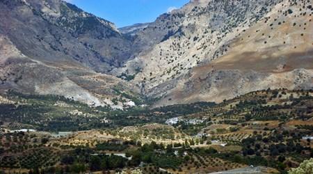 Trekking at Agios Nikolaos Gorge