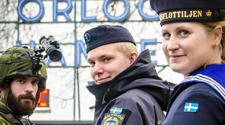 The Navy Day in Karlskrona