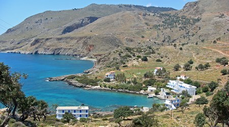 Walking from Sfakia to Agia Roumeli