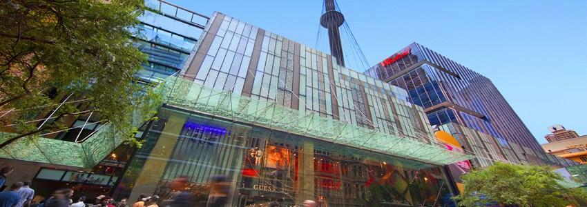 Westfield Sydney from Pitt Street Mall