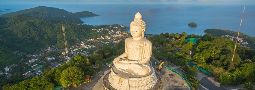 Phuket Big Buddha is one of the island most important and revered landmarks on the island