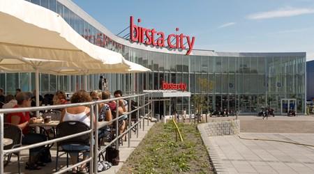 Birsta retail park
