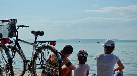 Cycling around Lake Balaton