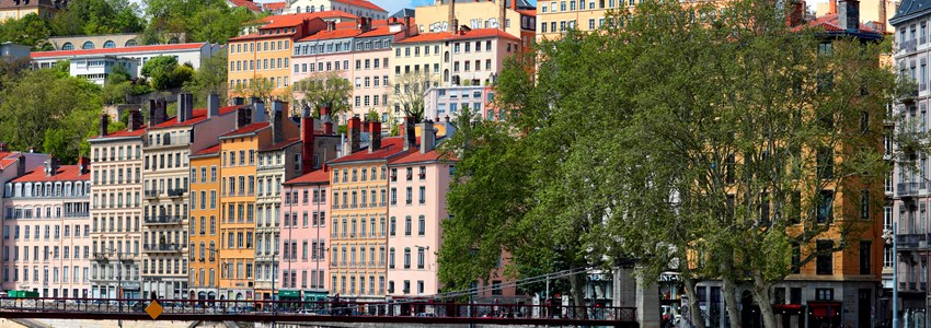 part of the city of Lyon