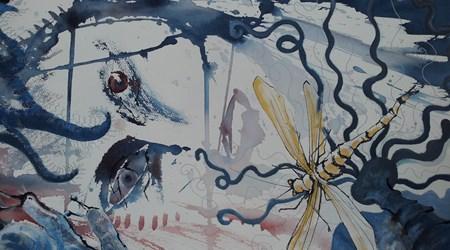Art exhibition on Aspö island
