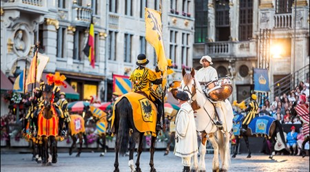 The Ommegang, Brussels' oldest historical pageant