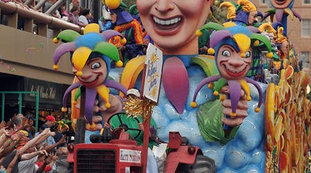Mardi Gras (January-February)
