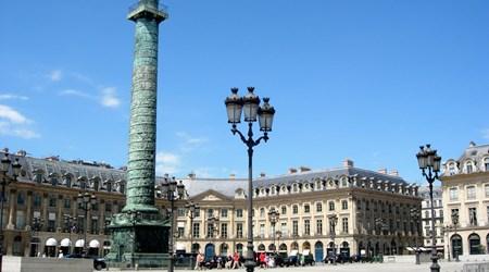 Area Surrounding Place Vendôme