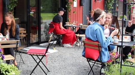 Vareborgs strawberry café