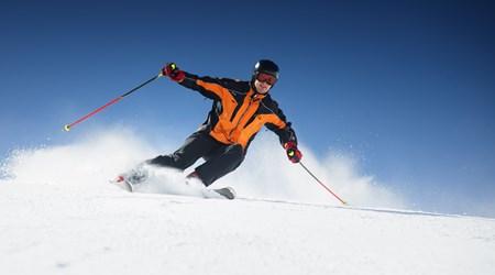The skiing resort