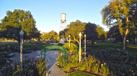 University Park Discovery Trail & World Peace Rose Garden