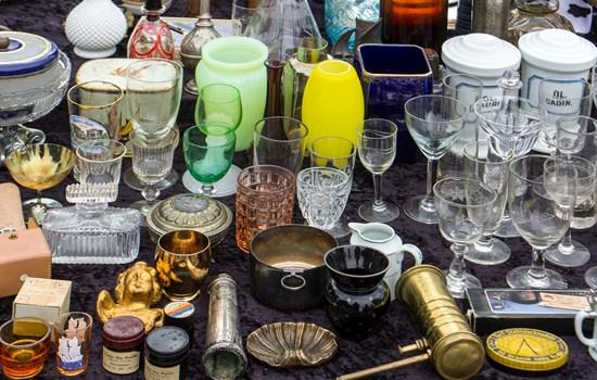 Flea Market at Ohatsu Tenjin Shrine