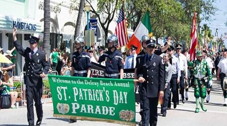 Delray Beach St. Patrick's Day Parade & Festival
