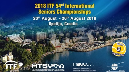 ITF 54th Interntional Tennis Tournament for veterans