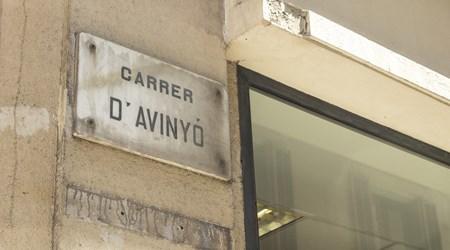 Carrer d' Avinyó