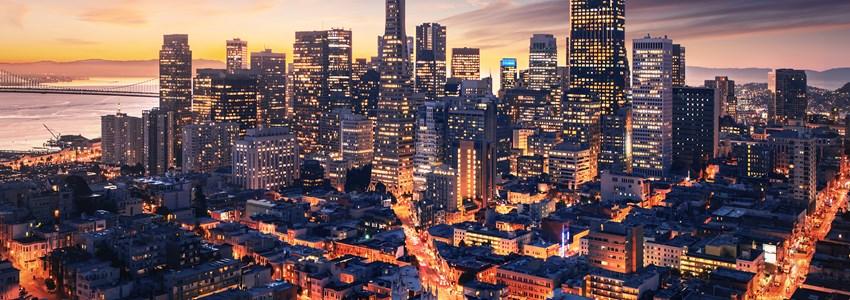 San Francisco aerial view