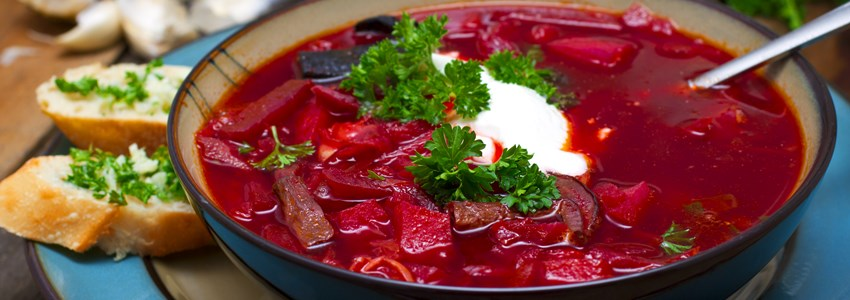 Borsh russian soup