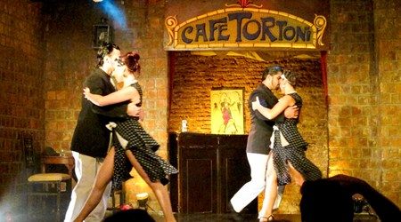 Tango at Cafe Tortoni